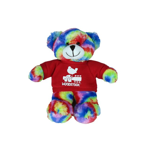 Woodstock Tie-Dye Teddy Bear