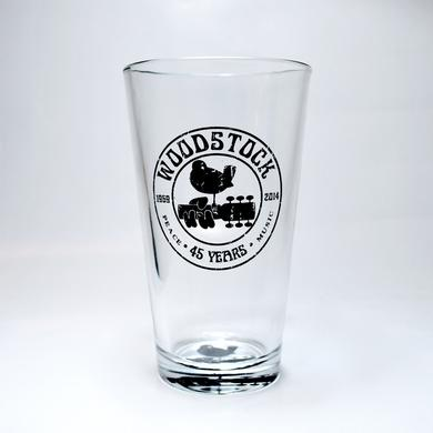 Woodstock Pint Glass