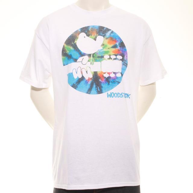 Woodstock Tie Dye Dove Logo T-Shirt