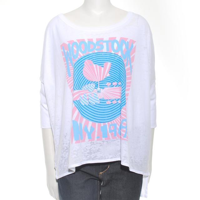 Woodstock Women's NY '69 Rising Sun 3/4 Sleeve T-Shirt