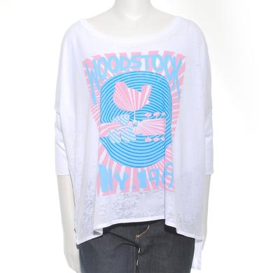 Woodstock Women's NY '69 Rising Sun 3/4 Sleeve T-Shirt