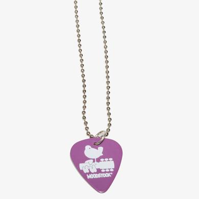 Woodstock Guitar Pick Necklace