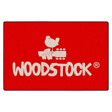 Woodstock Logo Door Mat