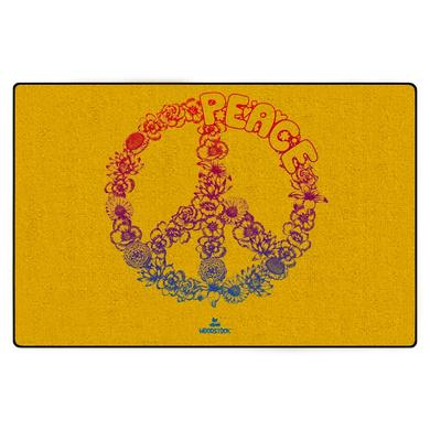 Woodstock Floral Peace Door Mat