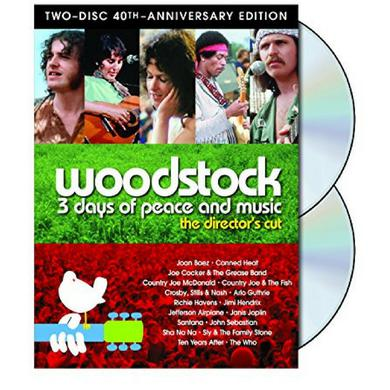 Woodstock:  3 Days Of Peace & Music 40th Anniversary Edition DVD