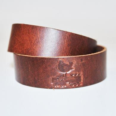 Woodstock Leather Bracelet