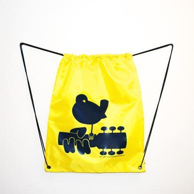 Woodstock Yellow Drawstring Dove Bag
