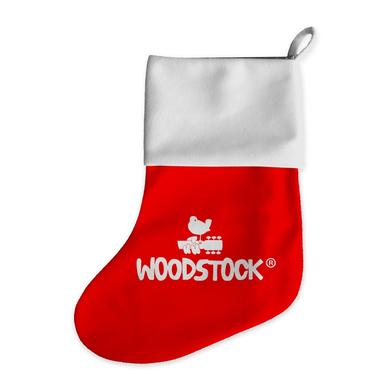 Woodstock Dove & Guitar Holiday Stocking