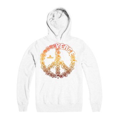 Woodstock White Heat Peace Hoodie