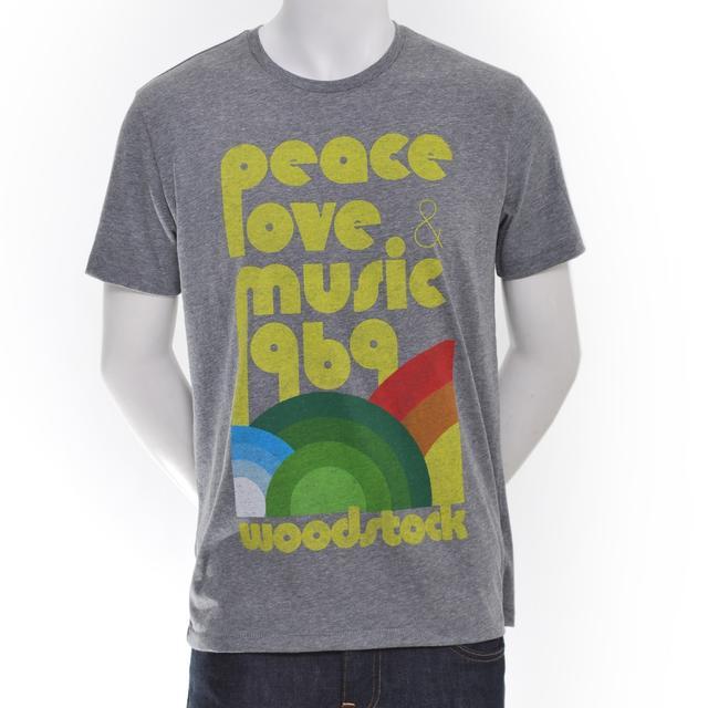Woodstock Peace, Love, Music '69 T-Shirt