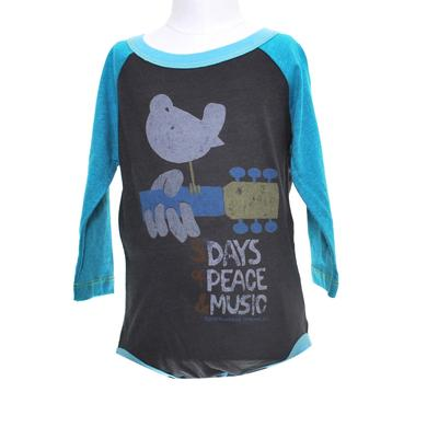 Woodstock (What Would I Give For) 3 Days Of Peace Longsleeve Onesie