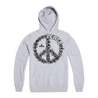 Woodstock Floral Peace Hoodie