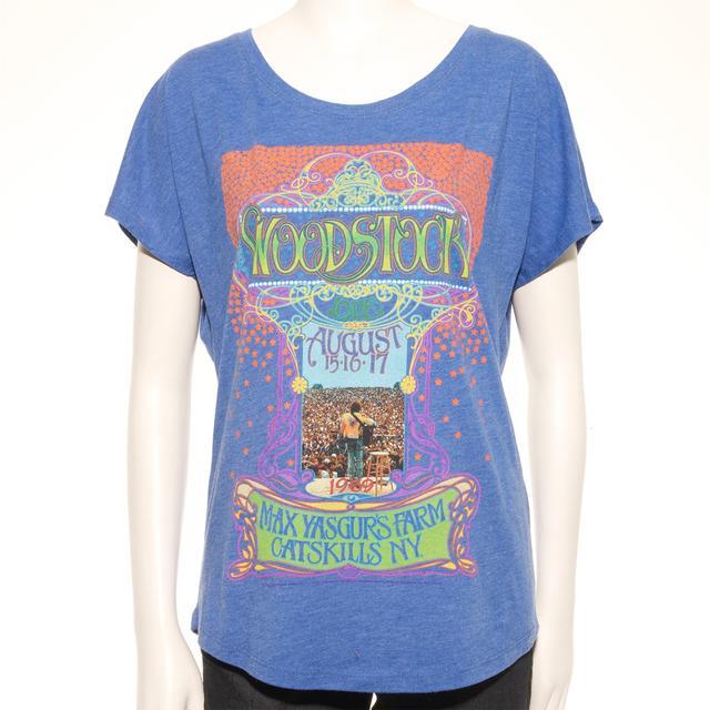 Woodstock Masse Yasgur's Farm Women's T-Shirt