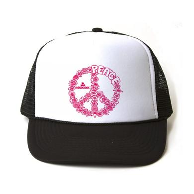 Woodstock Floral Peace Trucker Hat