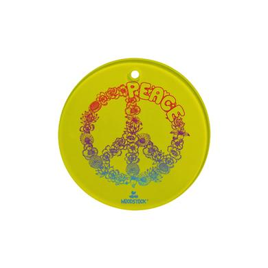 Woodstock Floral Peace Holiday Ornament