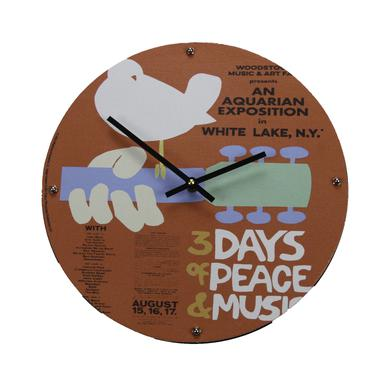 Woodstock Event Poster Wall Clock