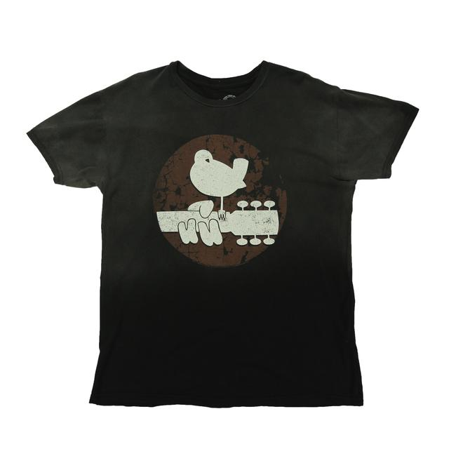 Woodstock Weathered Dove Logo T-Shirt