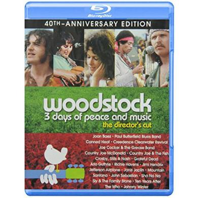 Woodstock:  3 Days Of Peace & Music 40th Anniversary Edition - Director's Cut Blu-Ray