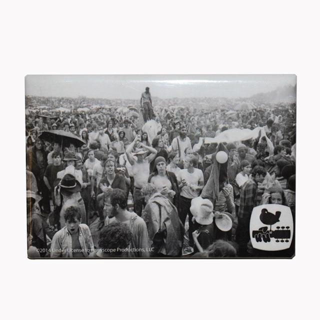 Woodstock A Face In The Crowd Magnet