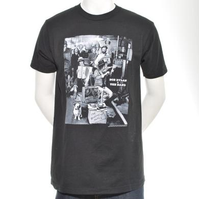 THE BAND  | B&W DYLAN BASEMENT TAPES T-SHIRT