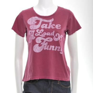 THE BAND  | RED WOMEN'S TAKE A LOAD OFF FANNY T-SHIRT