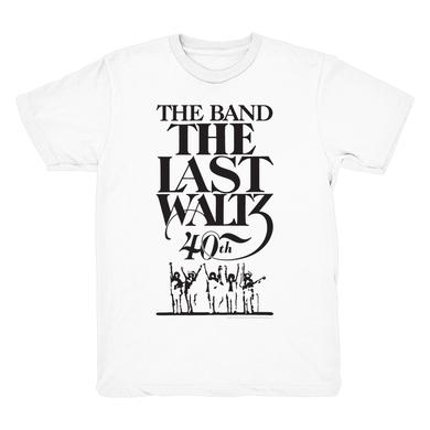 The Band THE LAST WALTZ 40TH ANNIVERSARY T-SHIRT // WHITE OR GREY
