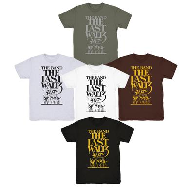 The Band PRE-ORDER:  LIMITED EDITION THE LAST WALTZ 40TH ANNIVERSARY T-SHIRT