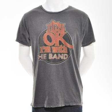 THE BAND  | GREY I'M WITH THE BAND T-SHIRT