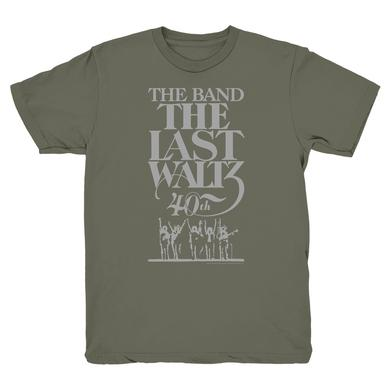 The Band THE LAST WALTZ 40TH ANNIVERSARY T-SHIRT