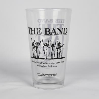 The Band The Last Waltz Pint Glass