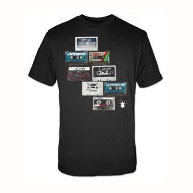 Saosin Tapes Black Tee