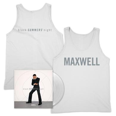 Maxwell Limited Edition Clear Vinyl + Tank