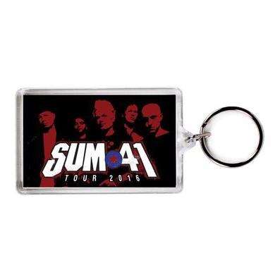 Sum 41 Photo Keychain