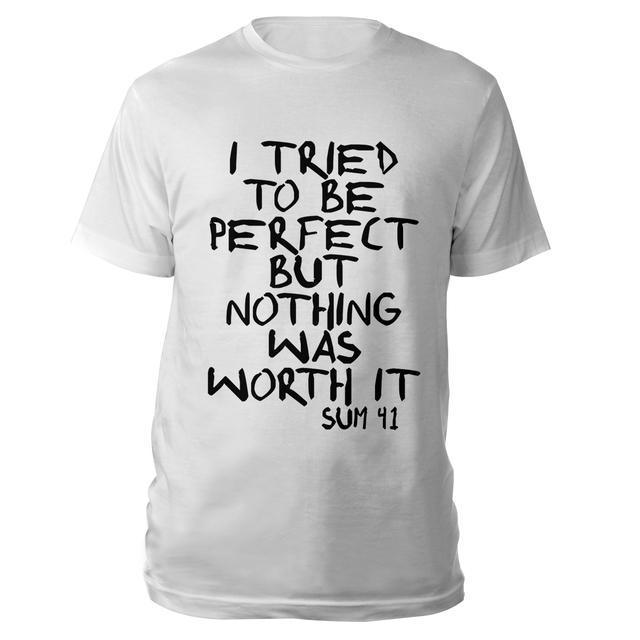 Sum 41 I tried to be perfect Tee