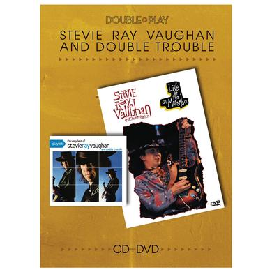 Stevie Ray Vaughan Double Play CD