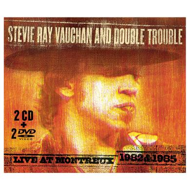 Stevie Ray Vaughan Live At Montreux 1982 & 1985 2-CD/2-DVD