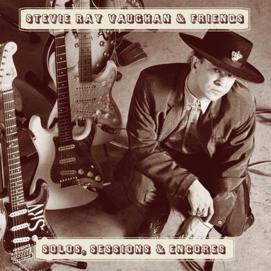 Stevie Ray Vaughan Solos, Sessions & Encores CD