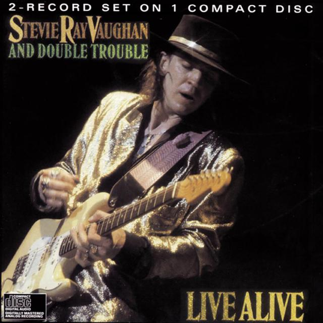 Stevie Ray Vaughan Live Alive CD