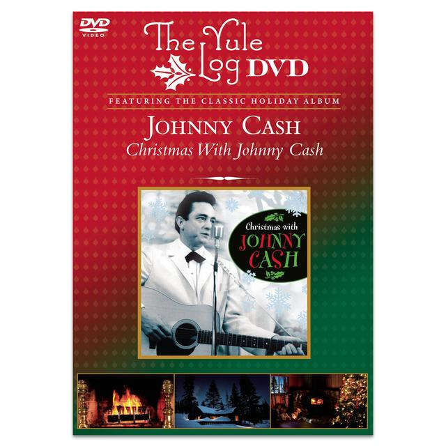 Christmas With Johnny Cash - The Yule Log DVD