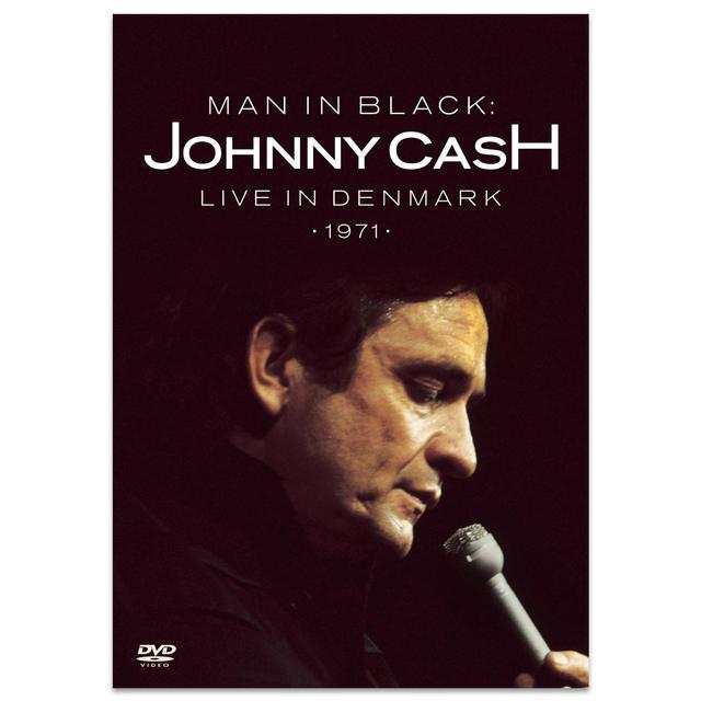 Johnny Cash Man In Black: Live In Denmark DVD