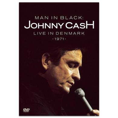 Johnny Cash Man In Black: Live In Denmark DVD