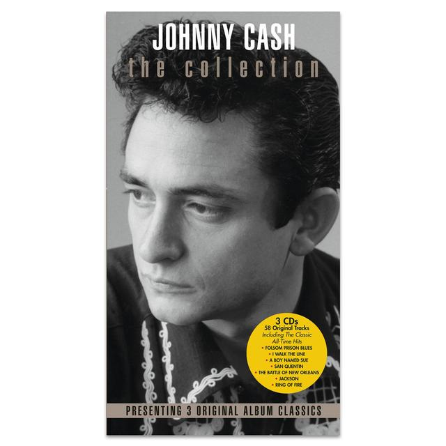 Johnny Cash At Folsom Prison/ At San Quentin (The Complete 1969 Concert)/ America (3 Pak) CD