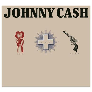 Johnny Cash Love, God, Murder CD