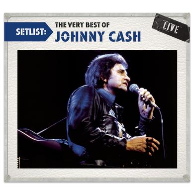 Setlist: The Very Best Of Johnny Cash Live CD