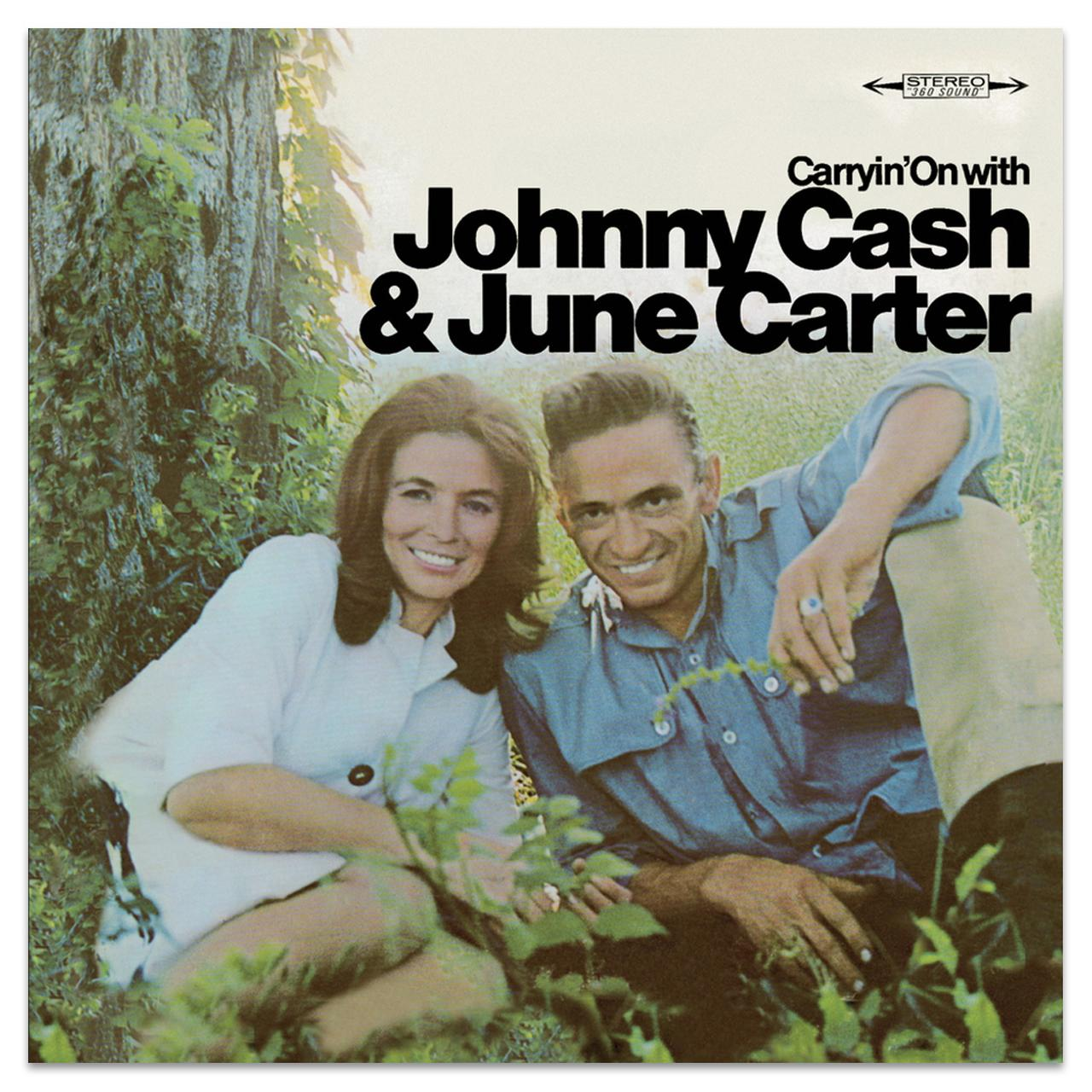 Carryin\' On With Johnny Cash & June Carter Cash CD