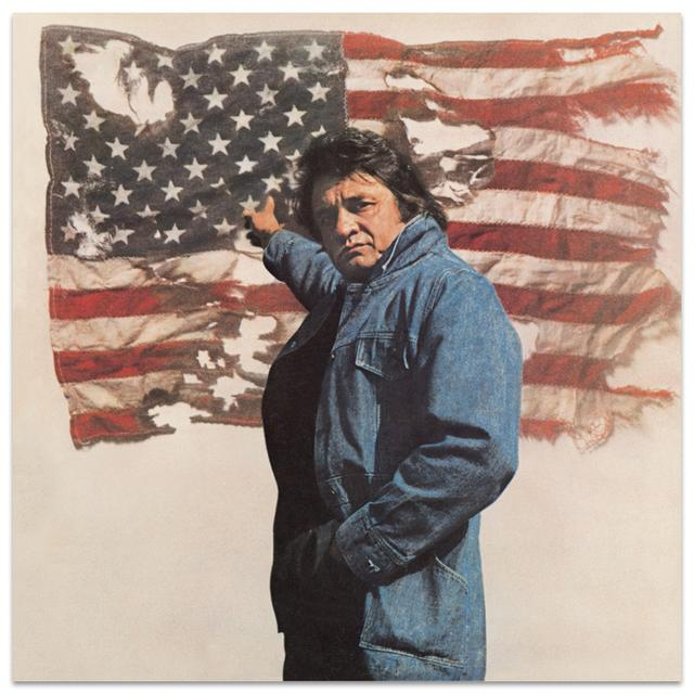 Johnny Cash Ragged Old Flag CD