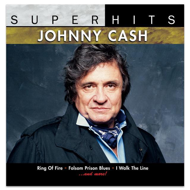 Johnny Cash Super Hits CD