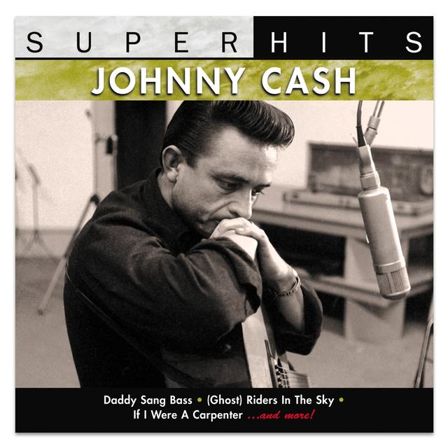 Johnny Cash Super Hits, Vol.2 CD