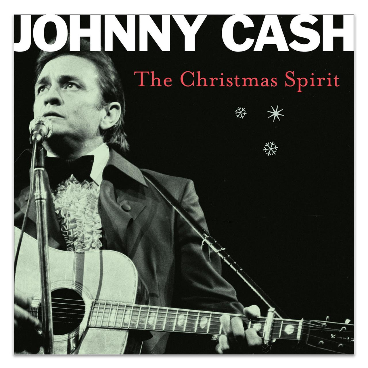 Johnny Cash The Christmas Spirit CD