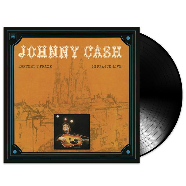 Johnny Cash Koncert V Praze (In Prague- Live) LP